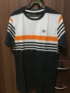Fred Perry Slim Fit Striped Tee