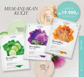 Clay mask oriflame