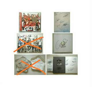 (URGENT SALE) GOT7  OFFICIAL SIGNED ALBUMS