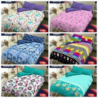 Bedcover set /seprei set king size, queen size, single