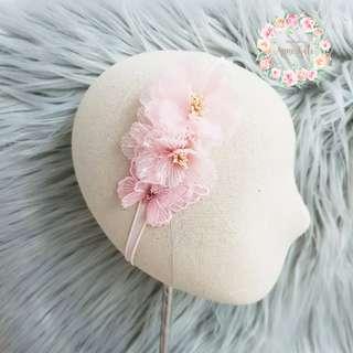 🚚 Handmade chiffon flower headbsnd or hsirband