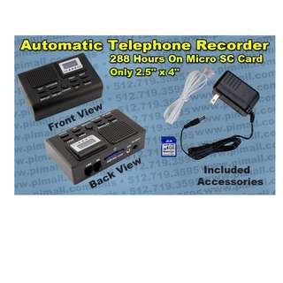 Telephone recorder