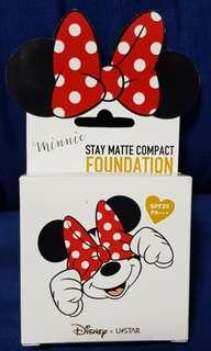 Cute Press Disney U*Star Minnie Stay Matte Compact Foundation