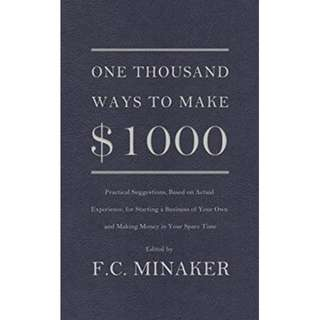 🚚 One Thousand Ways to Make $1000 Paperback (FREE DELIVERY)