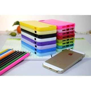 Pure life iphone 5 5s 5se rubber case