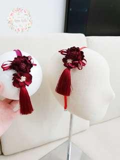🚚 Handmade twinning flower headband or hairband