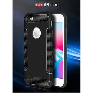 Carbon Fiber iphone 5 5s 6 6s 7 8 plus X case