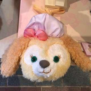 香港迪士尼可愛小狗cookie斜背包