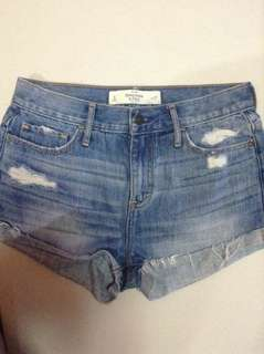 Abercrombie & fitch hw shorts