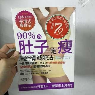 🚚 90%肚子一定瘦,肩胛骨減肥法-長坂靖子