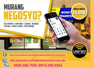 Bayad Center, Cebuana, Western Union, Smartpadala, Airline Ticketing