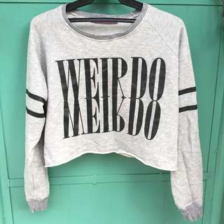 Sweater Cropped top