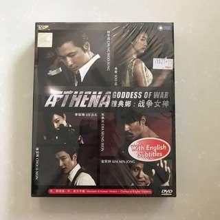 [SALES] ATHENA GODDESS OF WAR KOREAN DRAMA DVD