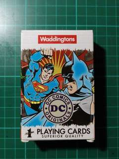 DC Superheroes Playing Cards