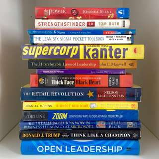 The Power, John Maxwell, Think Rich, Business, Psychology, Non-fiction books, and more!