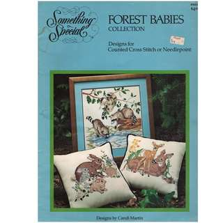 Cross Stitch Book - Forest Babies Collection