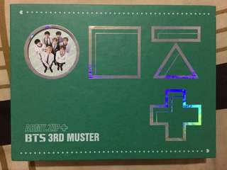 ARMY ZIP+ BTS 3RD MUSTER