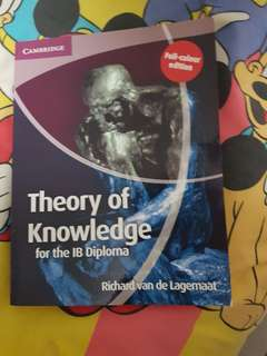 IB Theory of Knowledge (TOK) book