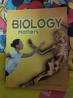 Biology Matters Textbook