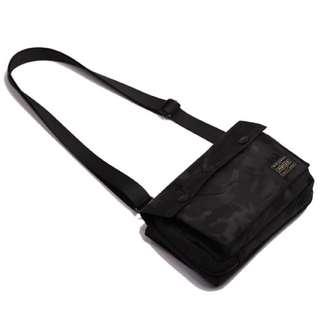 💯 PALING MURAH!! PORTER BLACK CAMO DETACHABLE SLING BAG