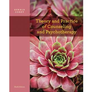 Theory and Practice of Counseling and Psychotherapy 9th Ninth Edition by Gerald Corey - Cengage Learning