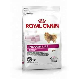 Makanan anjing Royal canin mini indoor adult 1,5kg