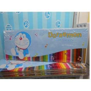 🇯🇵✨日本直送✨Doraemon - Colored Pencil Set (50 Pcs) ✨