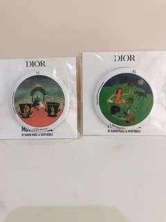 Dior badge 襟章 2018