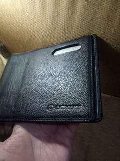 Dompet kulit BPKB Lexus