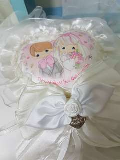 Precious Moments Ring Pillow