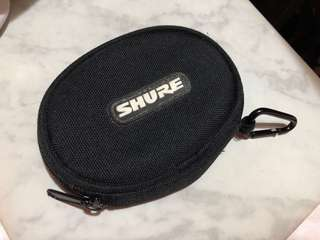 Shure earphone 袋