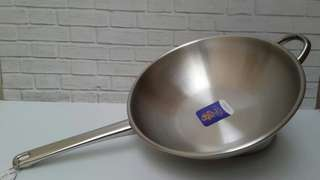 BIMA WESTERN WOK HERITANCE 32 CM / STAINLESS INDUCTION BP121432B