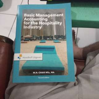 Basic Management Accounting for hospitality industry Books By Noordhoff