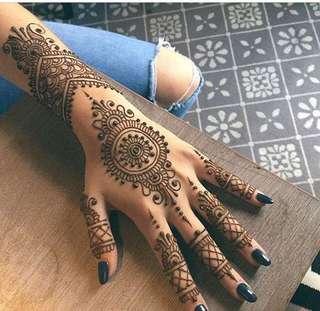 Henna Design !❤️❤️❤️❤️