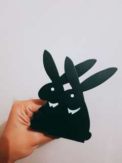 Cute Rabbit Book end