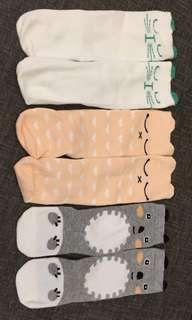 Knee-length Socks (1-3yrs) 3 pairs