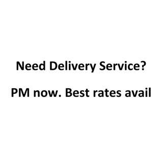 Need delivery service?