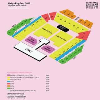 [Already in Queue] [Price Reduced] HallyuPopFest 2018 7th to 9th September 2018 @ Indoor Stadium