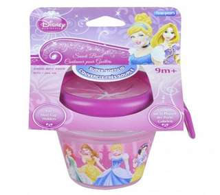 Disney princess snack container