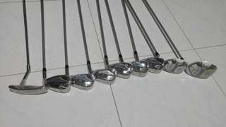 Golf Set lynx ladies beginner's 9 golf clubs