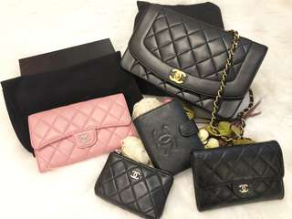 Chanel Diana Wallet Coins Bag