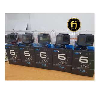 Brand new Ori Go Pro 6 black(warranty 1 year by funzsport )