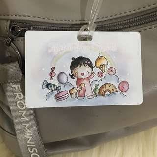 Custom Personalised Bag Tag - Baby in Sweet World