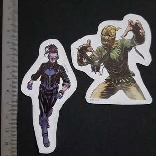 C5B DC Comics Bluebird & Scarecrow Sticker Stickers