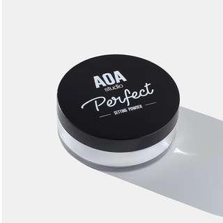 AUTHENTIC AOA PERFECT SETTING POWDER - MATTE TRANSLUCENT