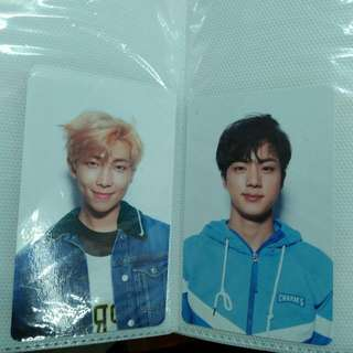 Bts Namjoon Jin LY HER pc