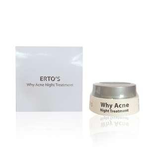 Ertos Why Acne Night Treatment Cream