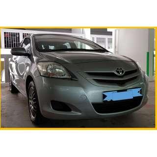 Toyota Vios 1.5A  rental