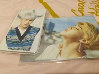 BTS Dispatch 明信片及小卡全套
