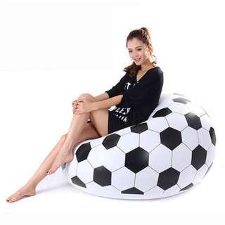 Inflatable Soccer Ball Football Chair Air Sofa